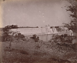 Palace and tank, Udaipur